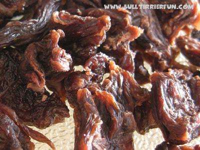 Homemade dog jerky treats recipe