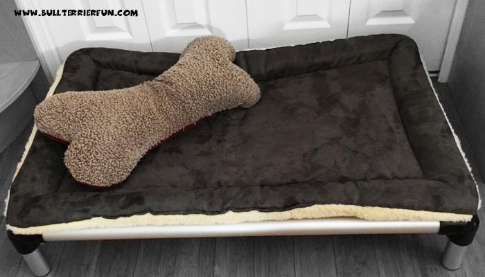 The Kuranda all aluminum dog bed - a great choice for Bull Terriers