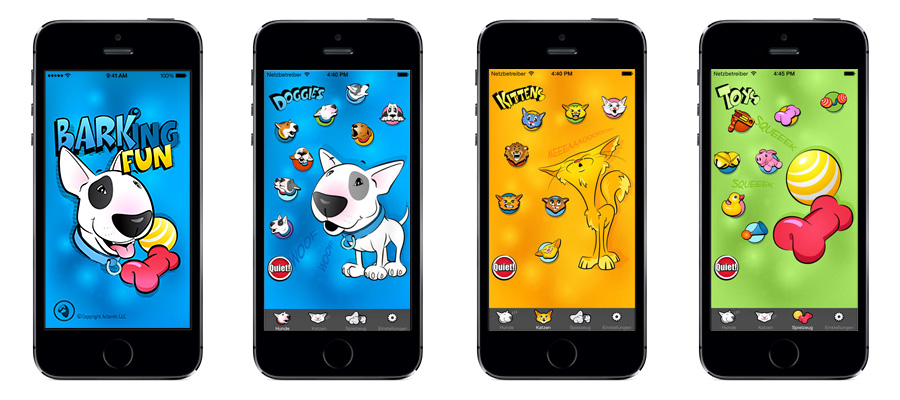 Our Dog iPhone App Barking Fun for training or entertainment